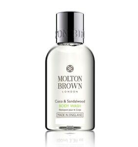 Molton Brown Coco Sandalwood bath shower gel 50ml Travel