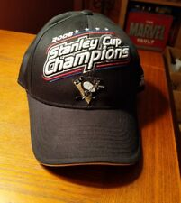 sale retailer e3ca0 05b11 New Vintage NHL 2008 Stanley Cup Champions PITTSBURGH PENGUINS Hat Cap One  Size