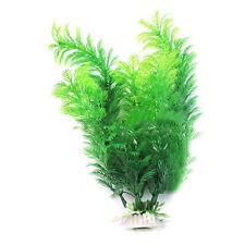 Künstliche Kunststoff Fishtank Aquarium Dekor Underwater Green Grass Pflanze A+
