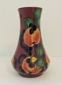 Royal Stanley Jacobean Ware Vase Floral Fruit