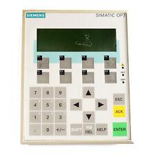 Siemens Simatic HMI button panel OP 7-DP 6AV3 607-1JC20-0AX1 6AV3607-1JC20-0AX1