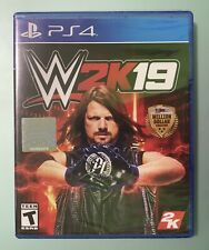 WWE 2K19 PS4 PlayStation 4 2019 Wrestling Video Game PS4 Sealed Brand New W2K19