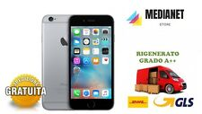 APPLE IPHONE 6S 64GB SPACE GRAY NERO GRADO A++ RIGENERATO