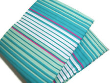 Pottery Barn Teen Burton Venture Stripe Multi Color Twin Duvet Cover ONE Sham