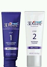 Crest 3D White Brilliance Daily Cleansing Toothpaste & Whitening Gel System 2.3o