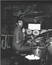 HAL BLAINE STUDIO SESSION DRUMMER SIGNED 8X10 PHOTO 7 w/COA THE WRECKING CREW