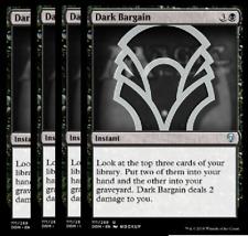 PRESALE- 4/27 Dark Bargain X4 -NM- Dominaria MTG Black Uncommon