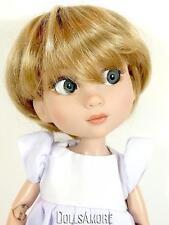"""Short Gl Blonde Doll Wig Size 10/11"""" Fits Vintage & Modern Dolls"""