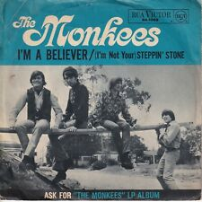 7inch THE MONKEES i'm a believer GERMAN EX/WOC (S1686)