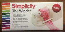 Simplicity The Winder Fabric Bias Tape WINDING Machine 881979