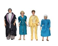 "Golden Girls - 8"" Clothed Action Figures – Dorothy Rose Blanche & Sophia - NECA"