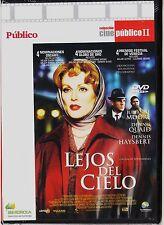 Cine Público: LEJOS DEL CIELO de Todd Haynes. Edición de diarios.
