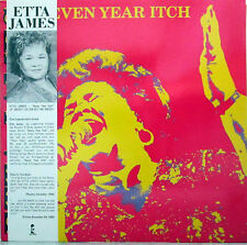Etta James - Seven year itch (D 1988)  w/Promo flyer