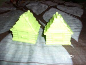 ANIMAL JAM PET HOUSE GREEN LOT OF 2 HOUSES