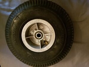 """COMPLETE Carlisle VC Wheel and Tire Assembly  4.10X4, 4Ply w/ 5/8"""" Bore Bearings"""