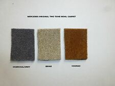 Mercedes-Benz  W111 / W112  220SE 250SE,300SE 280SE Wool Carpet Kit 1961-71