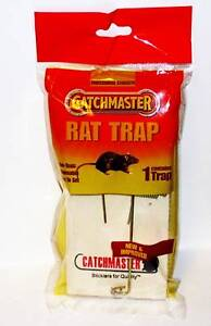 New Professional Strength Catch Master RAT TRAP Made To Work Every Time QUALITY