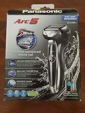 Panasonic ES-LV95-S Arc5 Men's 5-Blade Cordless Electric Razor with Shave Sensor