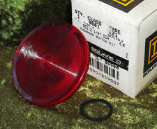 """Square D  2.25"""" RED Mushroom BUTTON 9001 R21 Series H NEW IN BOX 85900 9001R21"""