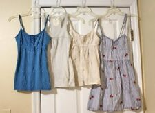 Hollister Abercrombie American Eagle Lot of 4 Summer Tanks Camis Size XS