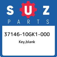 37146-10GK1-000 Suzuki Key,blank 3714610GK1000, New Genuine OEM Part