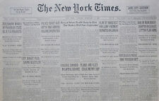 2-1933 February 7 BAN ON MANCHUKUO ADOPTED IN LEAGUE, REICH GAGS PRESS. PRUSSIAN