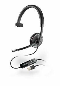 New Plantronics Blackwire C510-M Black Headset - P/N 88860