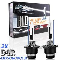 35W D4R Xenon HID Headlight High Low Beam Light Bulb For TOYOTA Prius 2006-2009