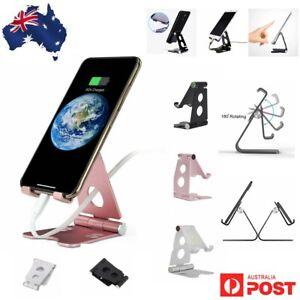 Aluminum Phone Stand Holder Home Office Desk Desktop For iPhone Cellphone