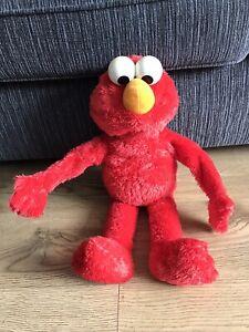 "Elmo Hugs Me Talking Red Large Plush Toy 23"" Hasbro 2012"