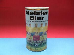 Meisterbier Dose Dortmunder Union 1967 Eintracht Braunschweig Dachbodenfund BTSV