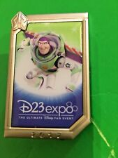 2017 D23 Expo Disney Dream Store Buzz Lightyear Poster Pin Artist Proof LE 750