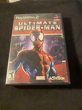 Ultimate Spider-Man (Sony PlayStation 2, 2005) PS2 - Marvel - Spiderman