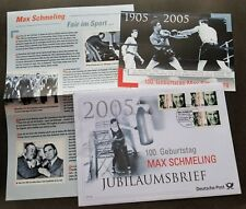 Germany Boxer 2005 Boxing Sport Games (postcard + FDC)