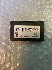 Final Fantasy Tactics Advance (Nintendo Game Boy Advance, 2003) Authentic!