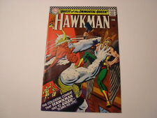 Hawkman #13, Quest of the Immortal Queen, Very Good+, White Pages