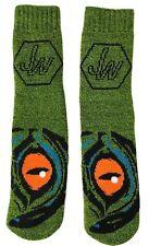 JURASSIC WORLD Warm Plush Slipper Socks w/Gripper Sole Ages 4-10 Shoe Size 9 - 2