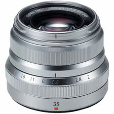 Fujifilm Fuji 35mm f/2 R WR XF Silver Prime Lens - New UK Stock