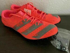 Mens Adidas Adizero Finesse Track & Field Spikes Pink EG6173 NWT