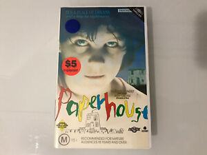 Paperhouse, VHS, Premiere Home Entertainment, Glenn Headly