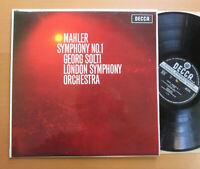 SXL 6113 WBG Mahler Symphony no. 1 Georg Solti DECCA ED2 WIDEBAND EX/EX