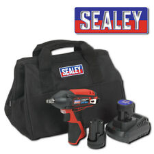 "SEALEY CP1204KIT IMPACT WRENCH KIT 3/8"" SQ DRIVE 12V LI-ION 2 BATTERIES BODY BAG"