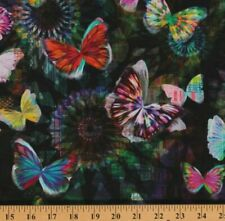 Hoffman Digital Full Spectrum Print Fabric Crystalia N4240-213 Onyx BTY