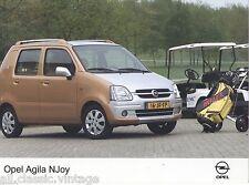 PRESS - FOTO/PHOTO/PICTURE - OPEL AGILA NJoy