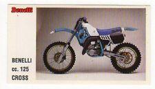 figurina MOTOR SHOW BAGGIOLI 1986 NEW numero 33 BENELLI CROSS
