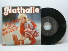 NATHALIE MY LOVE WON'T LET YOU DOWN (VOCAL + INSTRUM) RCA PB 6703 MOLTO BELLO