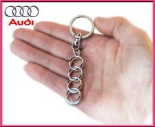 Audi key ring / Audi key chain / Top quality Audi Key fob / Pendant Metal Finish