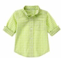 NWT Gymboree Lawn Party Checked Shirt 18 24