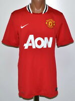 MANCHESTER UNITED 2011/2012 HOME FOOTBALL SHIRT JERSEY MAGLIA NIKE SIZE M ADULT