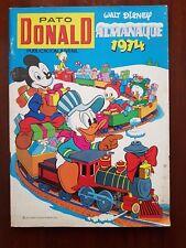Pato Donald Almanaque 1974.Ersa
